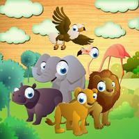 Kid's Safari Puzzle