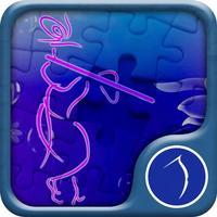 Jigsaw Puzzle For Krishna