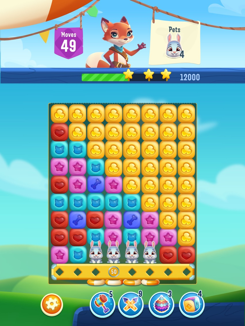 Pet Rescue Puzzle Saga App for iPhone - Free Download Pet