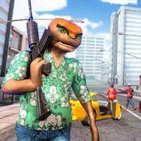 Super Frog Gangster Life