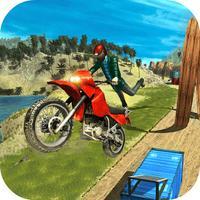 Crazy Trail Bike Stunt