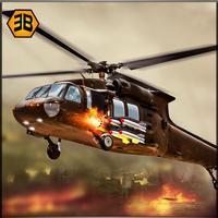 Gunship Robot Helicopter Fight