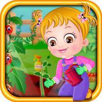 Baby Hazel Gardening Time Game