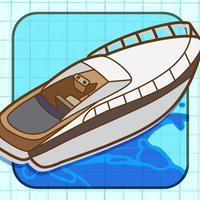 Doodle Speed Boat Stunt Race - Free Jet Ski Racing Game