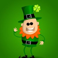 St Patrick's Day Stickers IM