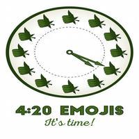 420 Emoji: It's Time! (Keyboard)