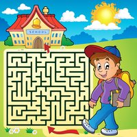 Educational Learning Mazes for Kids