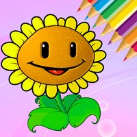 Flowers Coloring Book for kids - Drawing free game