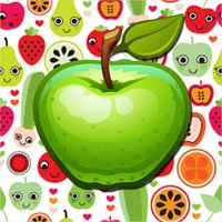 Fruits Name Learning Card