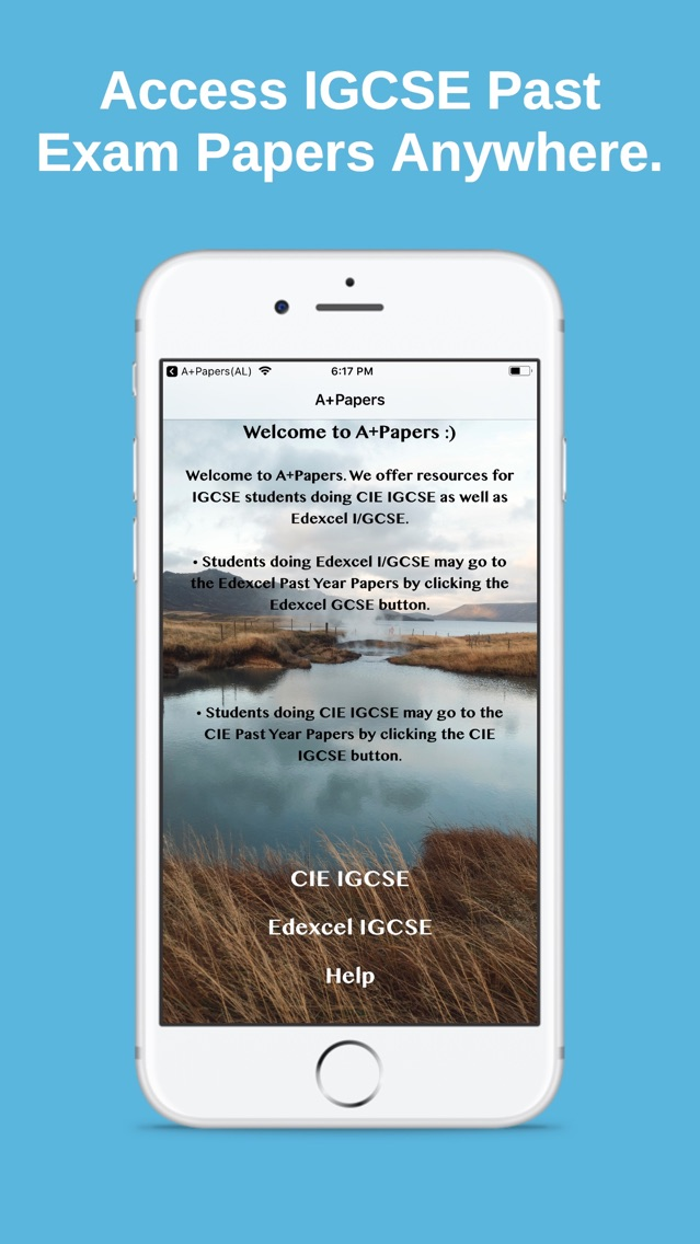 A+Papers: CIE & Edexcel IGCSE App for iPhone - Free Download