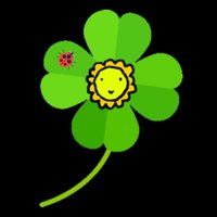 Happy Four-Leaf Clover