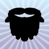 Pixel Mustache