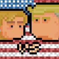 Clinton vs Trump Head Soccer Challenge