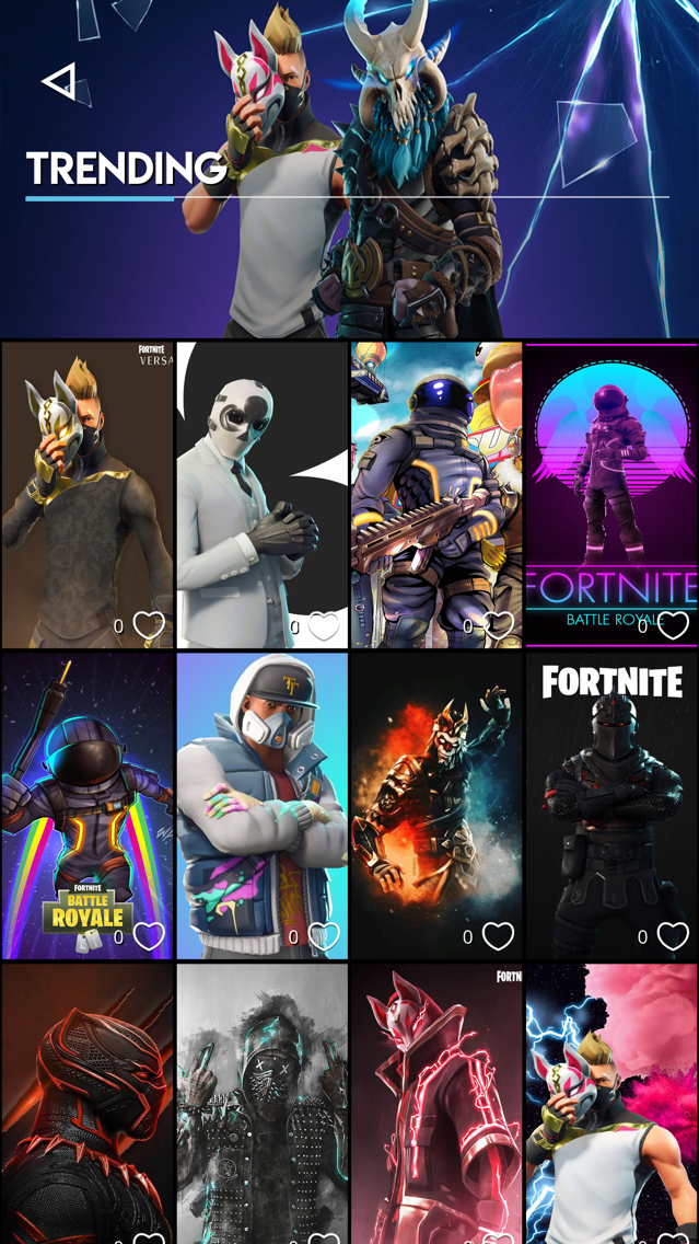 Wallpaper for Fortnite Mobile App for