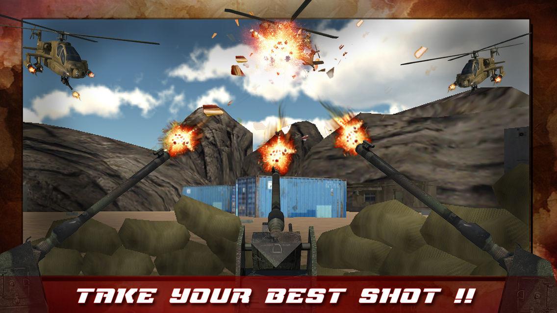 Anti Aircraft Gun Strike 3D App for iPhone - Free Download ...