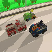 Paw Racing For Patrol Car