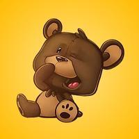 Teddy Bear Life Stickers