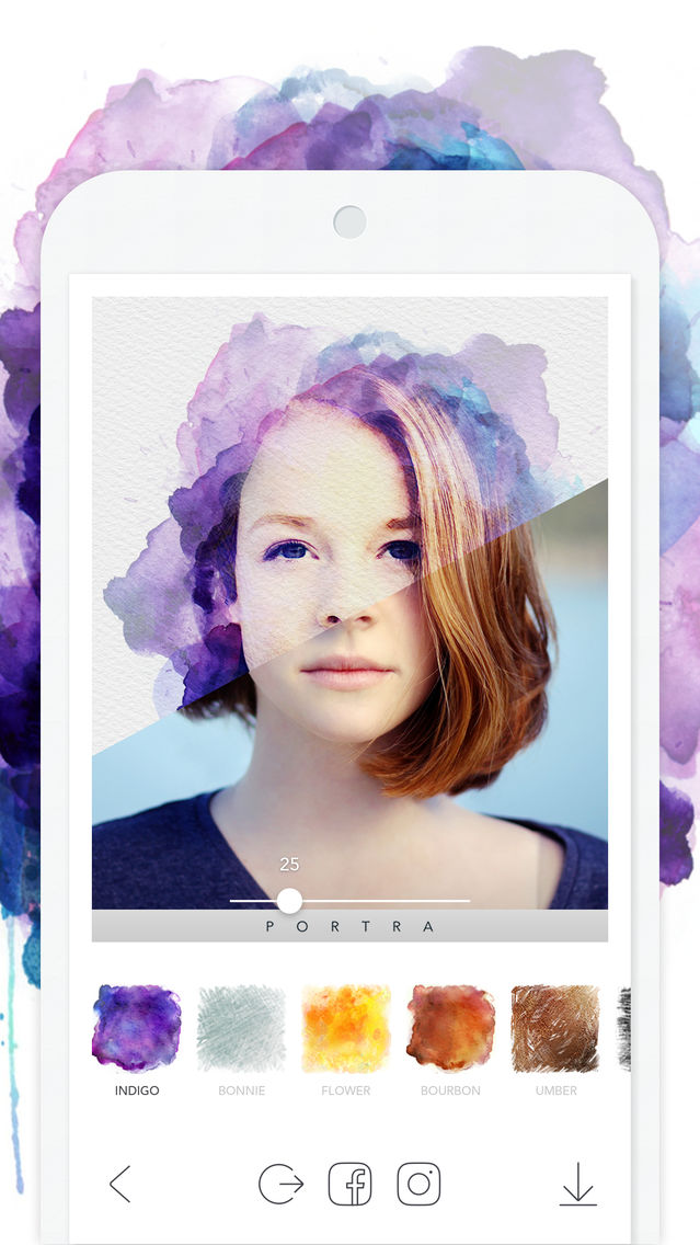 Portra Stunning Art Filter App For Iphone Free Download Portra Stunning Art Filter For Iphone Ipad At Apppure