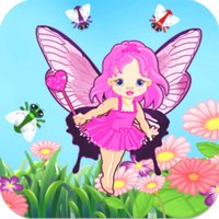 Fairy Catch - Pretty Pink Princess Girl Fun Catching Endless Top Action Glitter Bling Game