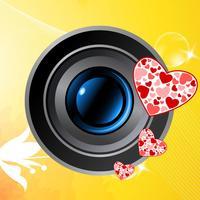 Love Camera Art Pro - Valentine Wish Card from yr. pics