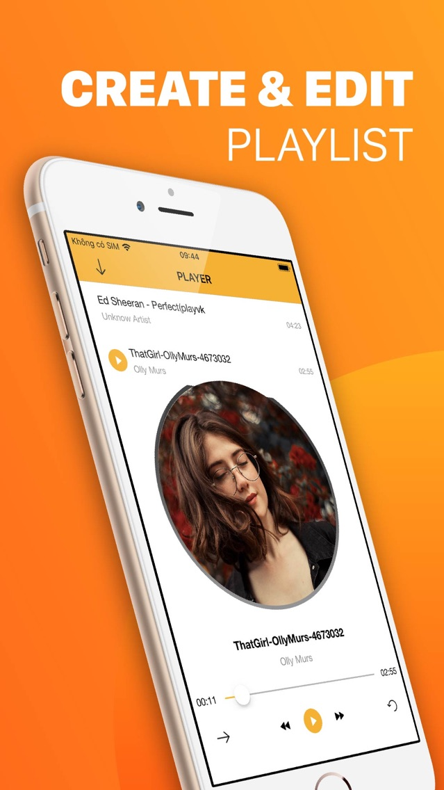 Tabidy - Offline Music Player App for iPhone - Free Download Tabidy