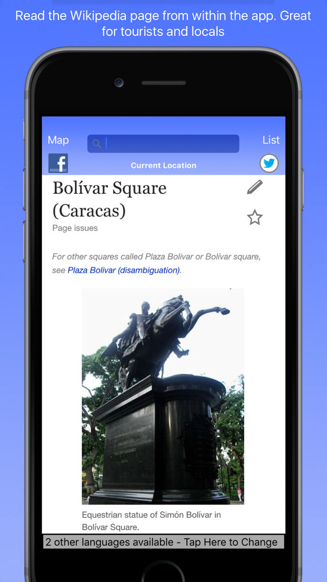 Caracas Wiki Guide App for iPhone - Free Download Caracas
