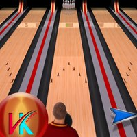 Throw The Ball Classic Bowling Game