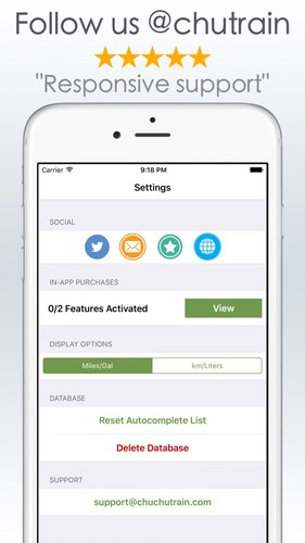 Gas Mileage Calculator >> Gas Mileage Calculator And Log App For Iphone Free
