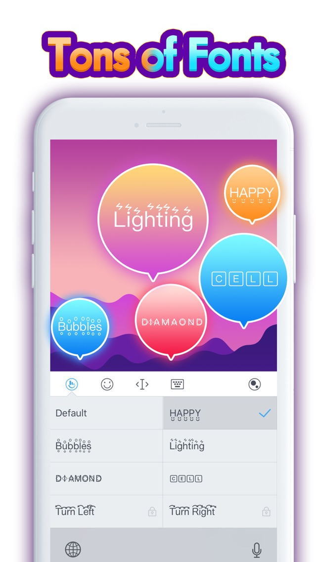 TouchPal Emoji Keyboard App for iPhone - Free Download