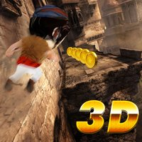 Arab Persian Prince Run 3D - Dodge a train and explore middle east temple