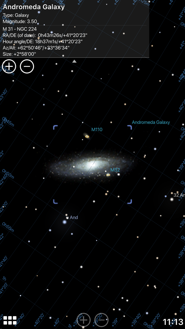 Stellarium Mobile Sky Map App for iPhone - Free Download ... on free space map, free night sky, free sky chart,