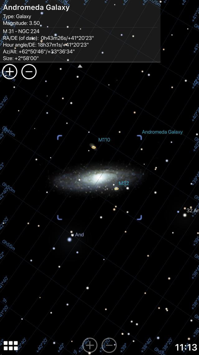 Stellarium Mobile Sky Map App for iPhone - Free Download Stellarium