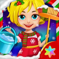 Christmas Princess Party Helper - Kids Fun Games