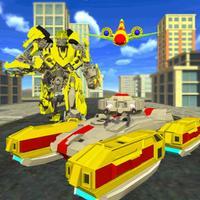 Robot War Transformation Fight