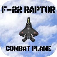 Lockheed Martin F-22 Raptor Combat Plane : War Air Strike Free Game