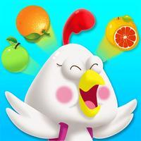 猪迪克认知-宝宝认水果动物蔬菜