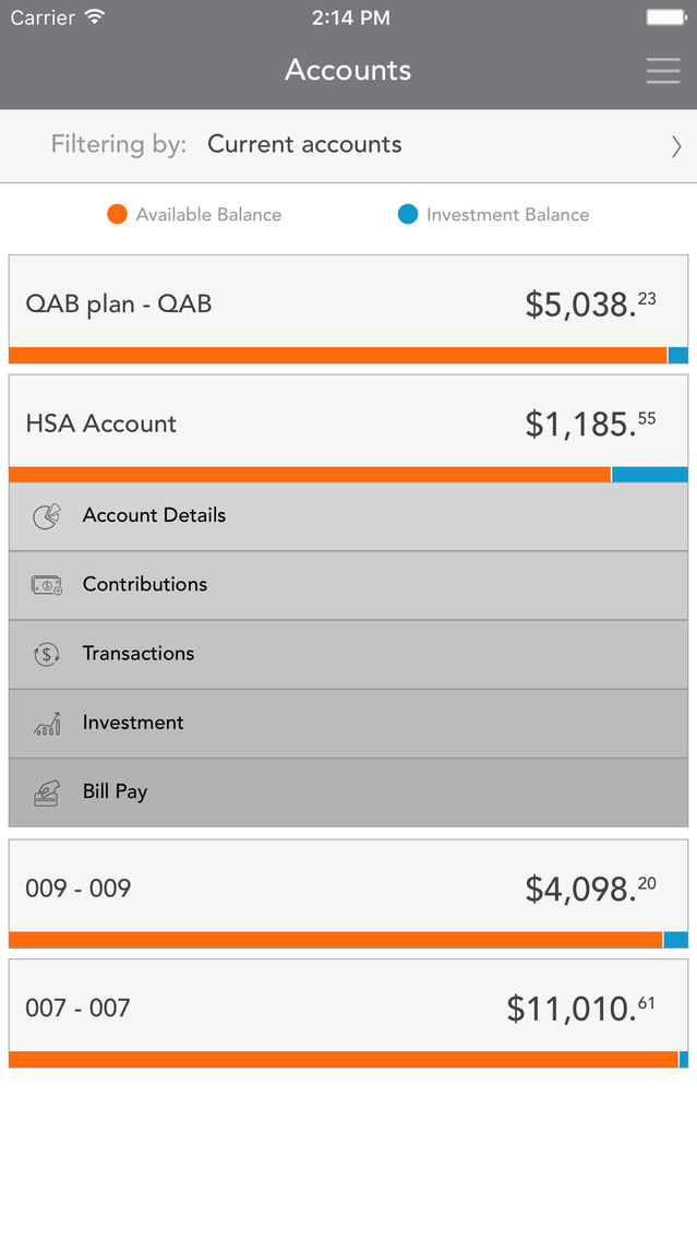 My Benefits Accounts App for iPhone - Free Download My