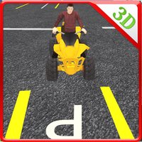 Quad bike tricky parking & crazy driving simulator