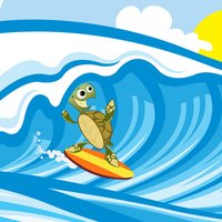Surf Kelly the Turtle