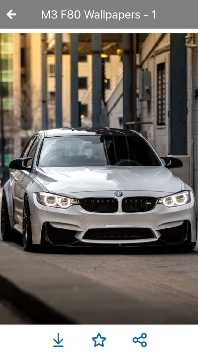 Hd Car Wallpapers Bmw M3 F80 Edition App For Iphone Free
