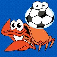 Sea Animal Football Match - Fish vs Crab Game for Kids