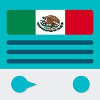 Mi radios México: Mexicana Todas las radios en la misma aplicación! Saludos de radio;)