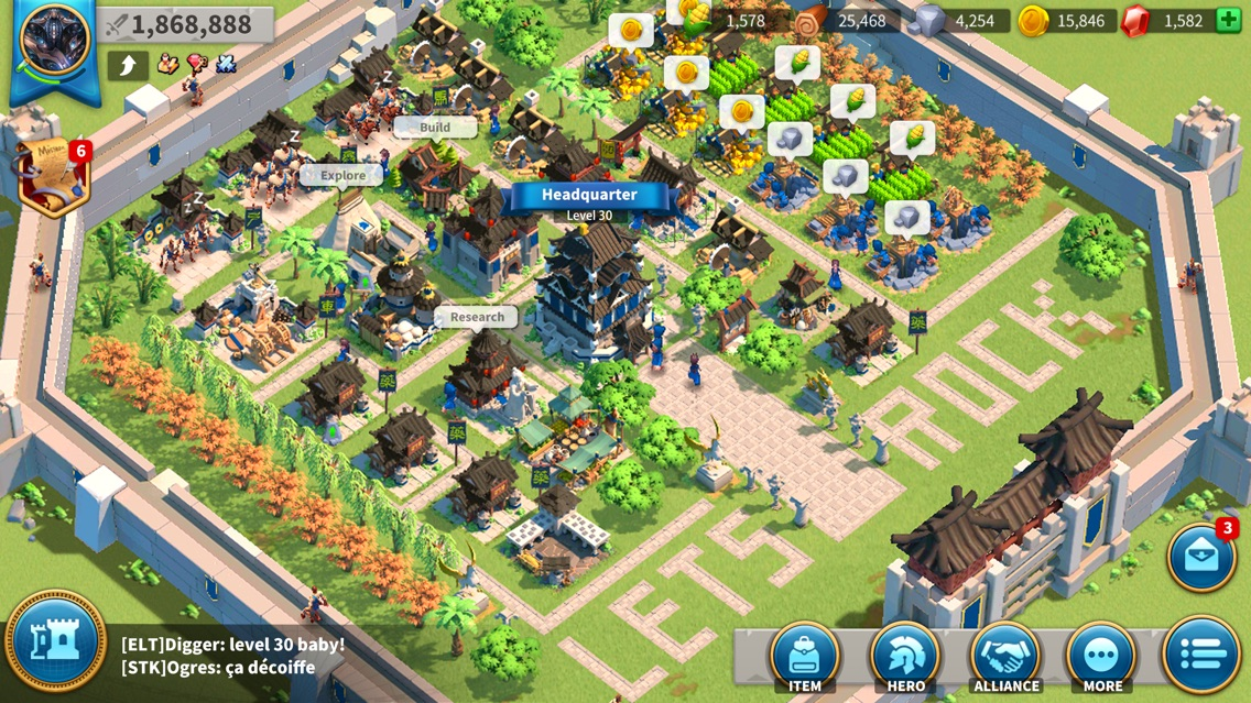 Rise of Kingdoms App for iPhone - Free Download Rise of