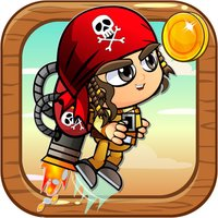 JetPack Pirate - Flying in The Treasure Island Game