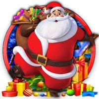Santa in Candy Land