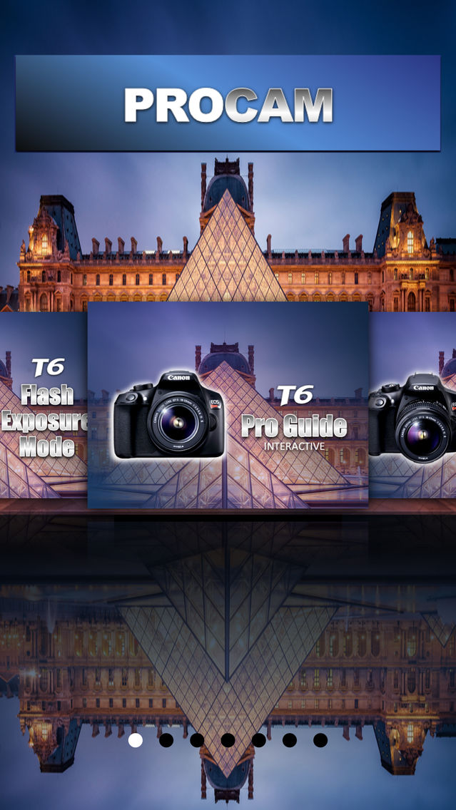 PROCAM for Canon T6 Rebel EOS 1300D App for iPhone - Free