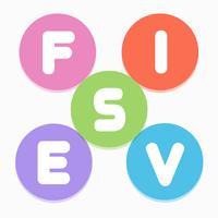 Fives - unscramble 5-letter words