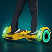 Hoverboard Future Race