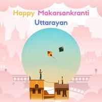 Makar Sankranti Uttarayan Kite