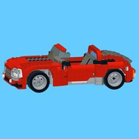 Roadster Mk 2 for LEGO Creator 7347+31003 Sets - Building Instructions